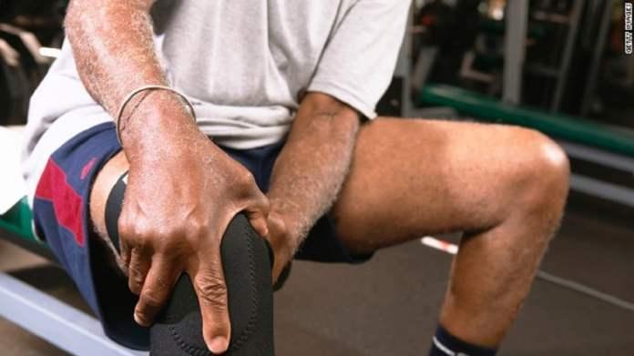 blessures au genou