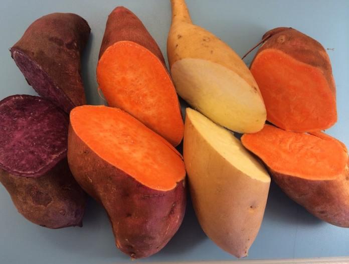 ignames et patates douces