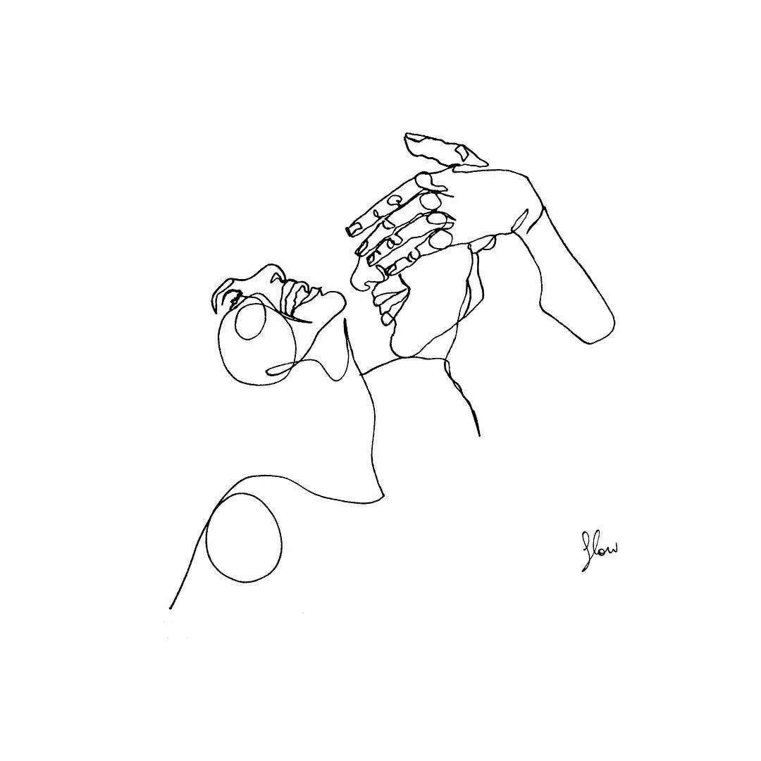 Une Artiste Partage 27 Dessins Sensuels Aux Traits Simples