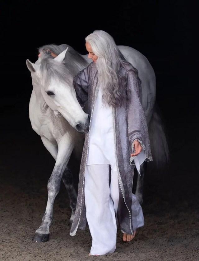 yasmina et un cheval