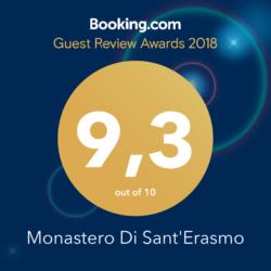 Monastero di Sant'Erasmo Veroli - Bookings Award 2018