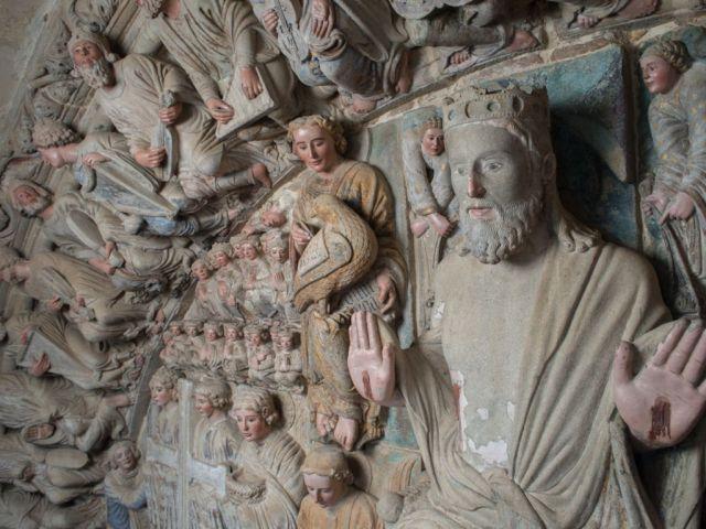 Risultato immagini per 24 ancianos del apocalipsis portico de la gloria