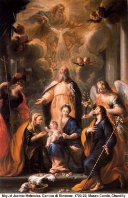 Jezusovo darovanje - Svečnica