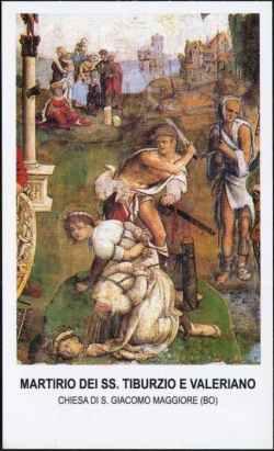 sveti Valerijan, Tiburcij in Maksim