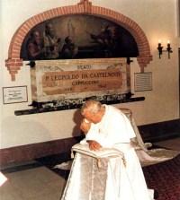 Grob Leopolda mandića in JP2