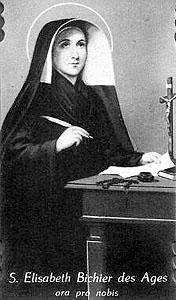 Elizabeta Bichier - redovna ustanoviteljica