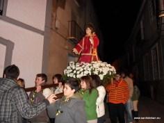 Procesión por Calle San Esteban (II)
