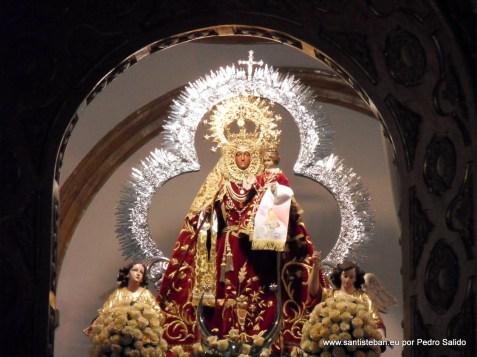 Virgen del Collado, José con estadales y Comisarios
