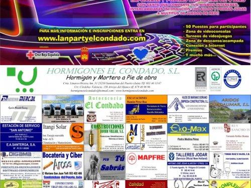 Cartel Lan Party El Condado 2011
