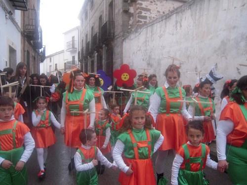 Carnaval 2012 por la AMPA Virgen del Collado