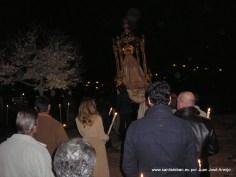 Festividad de la Candelaria, procesión claustral