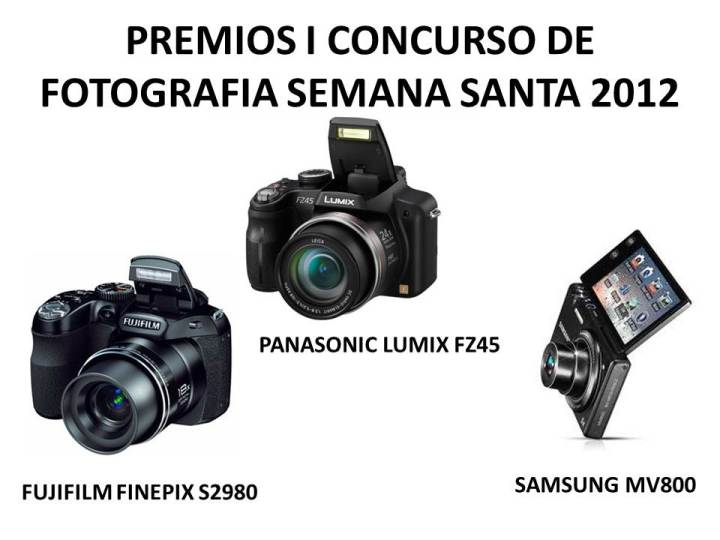 Premio concurso fotografía Semana Santa 2012 Santisteban