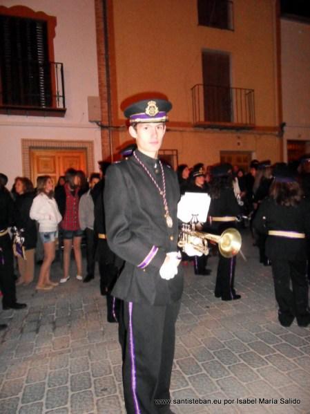 Juan Pedro Quesada - Banda de los Nazarenos en la Calle Sagasta
