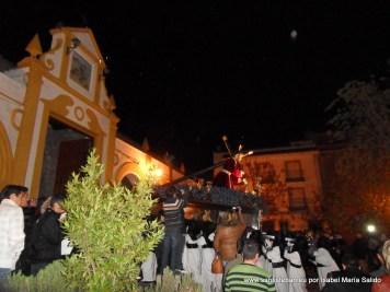 Jesús de la Caída encerrándose en la Ermita del Egido