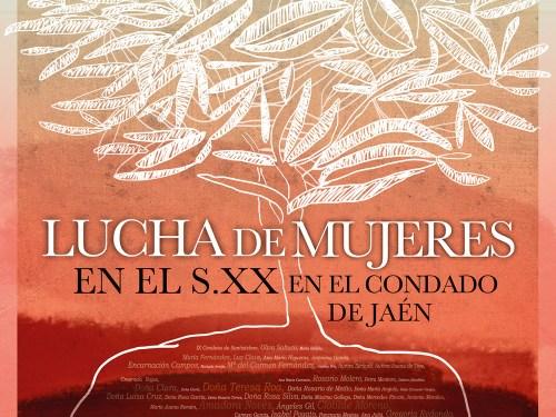 Cartel de la Exposición Lucha de Mujeres en el Condado de Jaén
