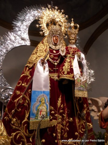 Nuestra Señora del Collado, antes de la fiesta de Pentecostés.