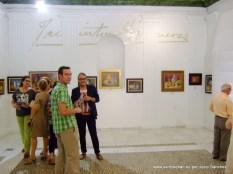 Javier López y Justo Sánchez: Concejal y Técnico de Cultura.
