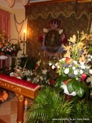 Cuadro de la Virgen, en la Mayordomía 2012/2013