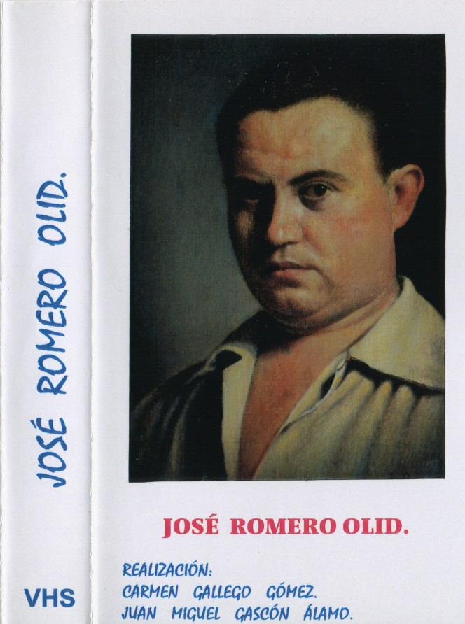 Portada VHS Documental José Romero