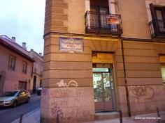 Calle Bernardo López García, Madrid.