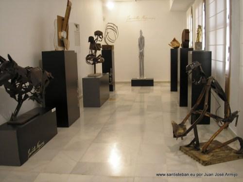Esculturas XXVII Bienal Jacinto Higueras