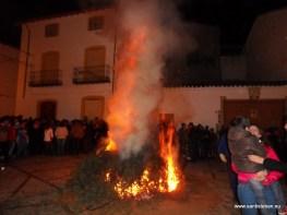 Lumbres de San Esteban 2012