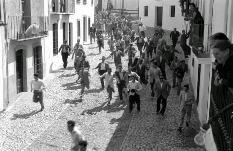 Encierro Santisteban Años 60