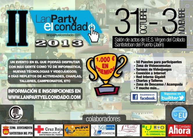 Cartel Lan Party El Condado 2013