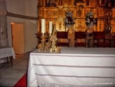 Reliquia de San Esteban en el Altar