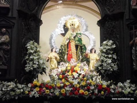 Virgen del Collado la noche de los Mayos