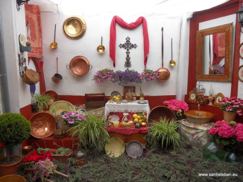 Cruces de mayo 2014 en Santisteban