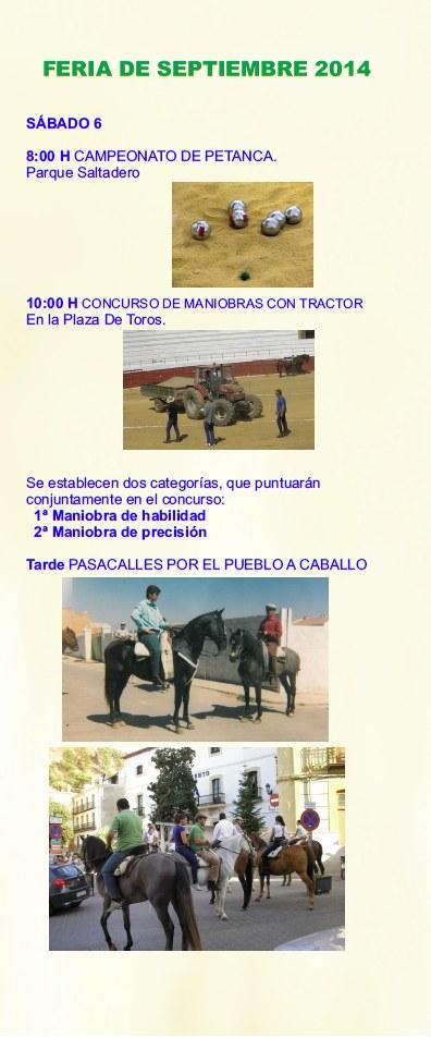 Folleto Feria Septiembre 2014 - 3