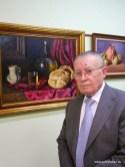 José Romero, cuyo nuevo libro de poesía se presentó durante el acto