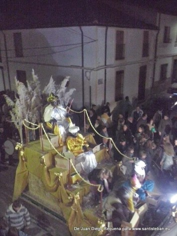 Cabalgata de los Reyes Magos de Oriente