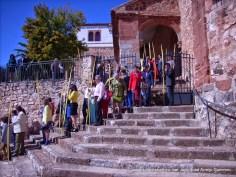 Domingo de Ramos. Procesión de Palmas saliendo de Santa María