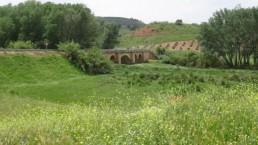 Puente sobre el rio Beas en las proximidades de La Ventilla