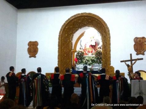 Tuna cantándole a la Virgen, sábado vísperas de Pentecostés 2015