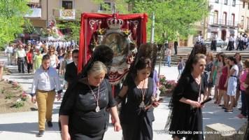 Bajada de la Virgen, sábado víspera de Pentecostés.