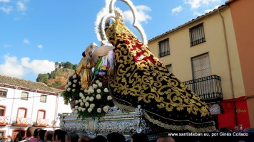Nuestra Señora del Collado hacia la Ermita