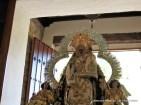 Virgen del Collado entrando en la ermita