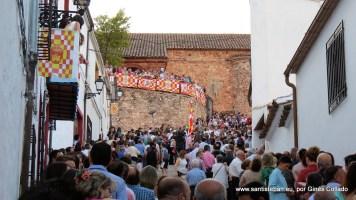 Ríos de devoción recorren las calles de Santisteban