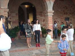 Mayordomía en la procesión claustral Festividad del Rosario - Virgen del Collado