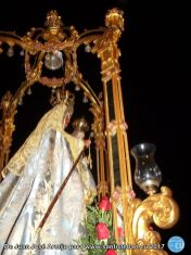 Procesión Claustral de Nuestra Señora del Collado en la Festividad de la Inmaculada Concepción 2017