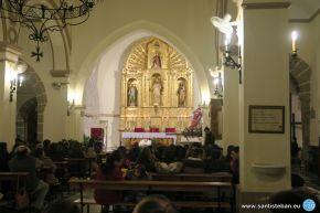Templo de San Esteban antes de la fiesta