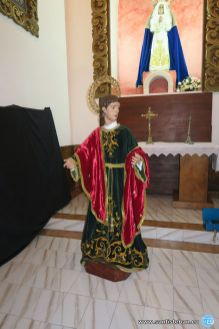 San Juan Evangelista, preparado para su celebración el día 27 de diciembre