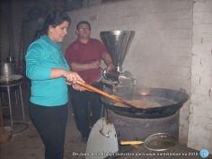 Haciendo los churros para la fiesta de San Sebastián