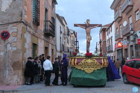 Nazarenos y Cristo del Perdón - Viernes Santo 2018