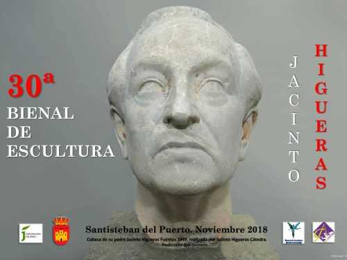 Cartel de la 30ª Bienal de Escultura Jacinto Higueras