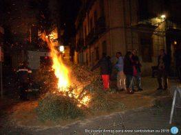 Lumbre de San Antón 2019