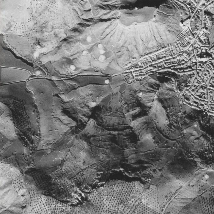Vista Aérea 1945 - Santisteban S.O.